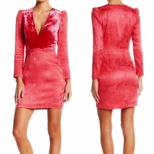 FREE PEOPLE 🍒 Limited SOLDOUT New Pink Mini Dress